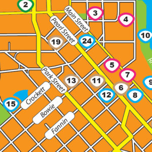 Check out the interactive DBCAD map