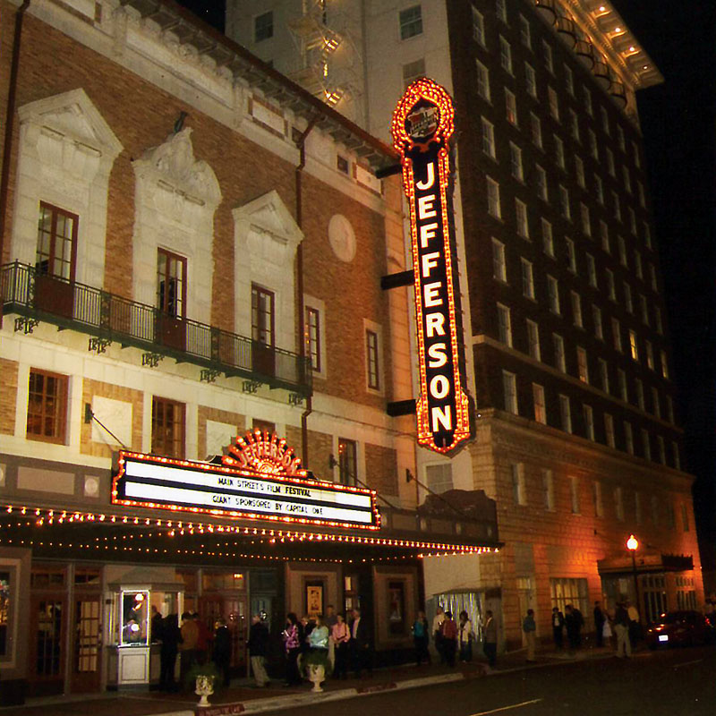 Jefferson Theater Downtown Beaumont